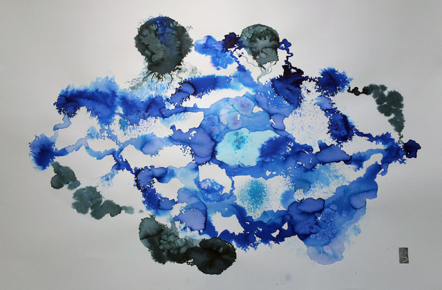 Allison Svoboda, 'Meditation on Blue II', Chicago Art Source