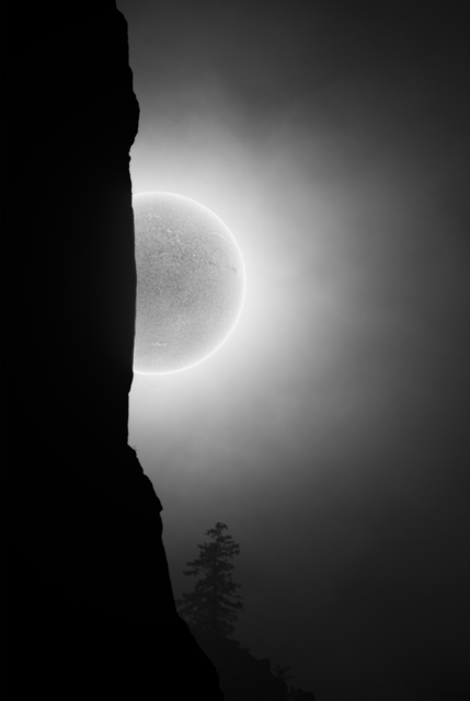 , 'I'm Here: The Sun Leaving Cathedral Spires, Yosemite, 2016,' , photo-eye Gallery