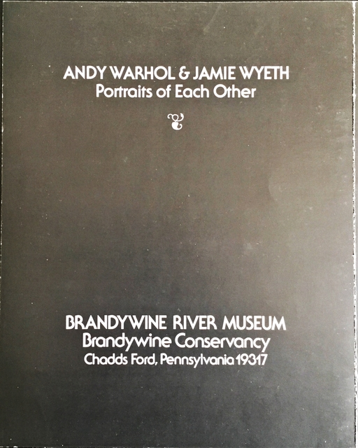 Andy Warhol, 'Andy Warhol & Jamie Wyeth: Portraits of Each Other (Signed by both Wyeth & Warhol)', 1976, Print, Limited Edition Offset Lithograph. Signed by both artists and signed twice by Andy Warhol. Numbered. Unframed., Alpha 137 Gallery