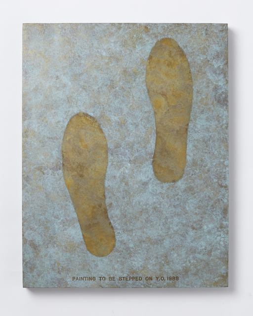 , 'Painting to Be Stepped On,' 1988, Tomio Koyama Gallery
