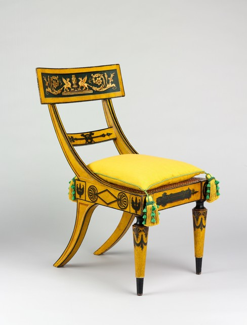 Attributed to John Finlay, 'Side Chair', 1815–1820, The Metropolitan Museum of Art