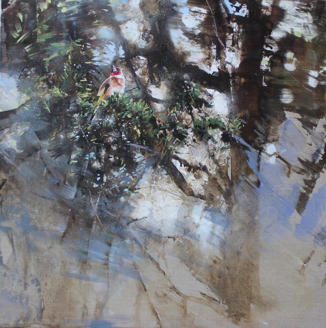 , 'Goldfinch, Yew,' 2018, Sarah Wiseman Gallery