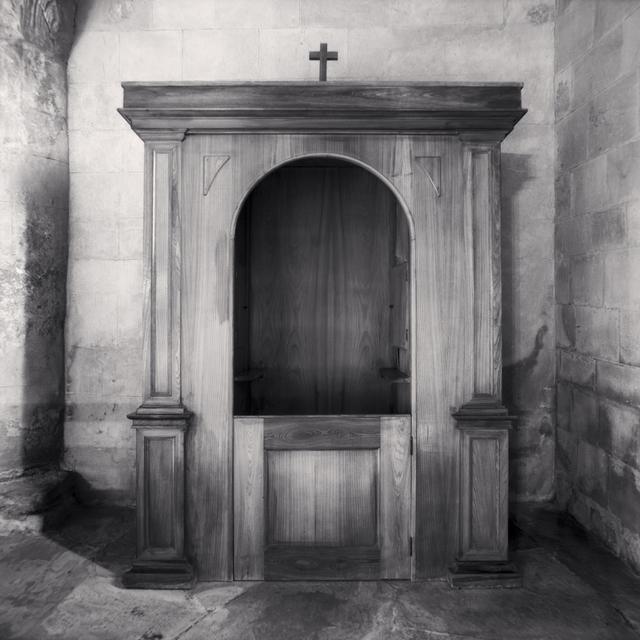 Michael Kenna, 'Confessional, Study 26, Chiesa di Santa Maria Assunta, Toano, Reggio Emilia, Italy', 2008, Huxley-Parlour