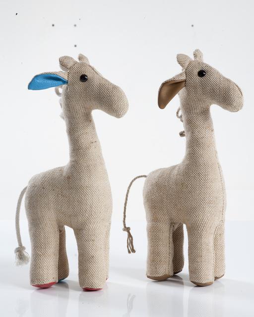 """, 'Small """"Therapeutic Toy"""" Giraffe,' 1969/2012, R & Company"""