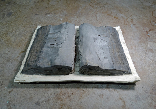 , 'Stacked Books II,' 2016, Karin Weber Gallery