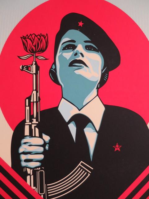 Shepard Fairey, 'Peace Guard 2', 2016, AYNAC Gallery