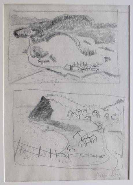 , 'Gaspe (2 Studies),' ca. 1938, DC Moore Gallery