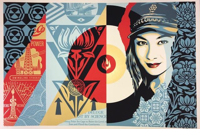 Shepard Fairey, 'Shepard Fairey Raise The Levels Print Obey Giant Poster 2019 Street Art Pop Art', 2019, New Union Gallery