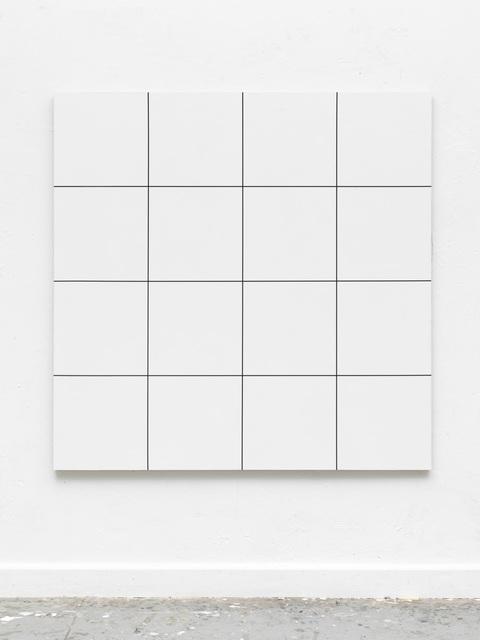 , 'Morellet /Glass 16 Felder,' 2017, Casado Santapau