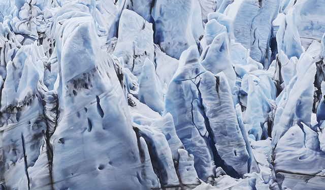 Zaria Forman, 'Risting Glacier, South Georgia, No. 1', 2016, Drawing, Collage or other Work on Paper, Soft pastel on paper, Winston Wächter Fine Art