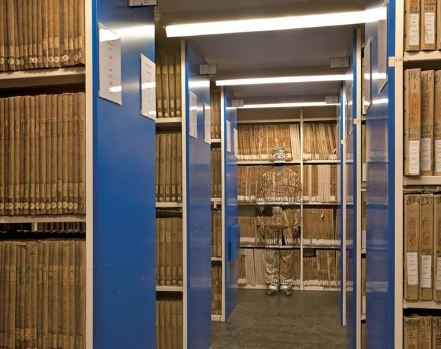 , 'Hiding in Paris No. 6 - Archives,' 2011, RGR+ART