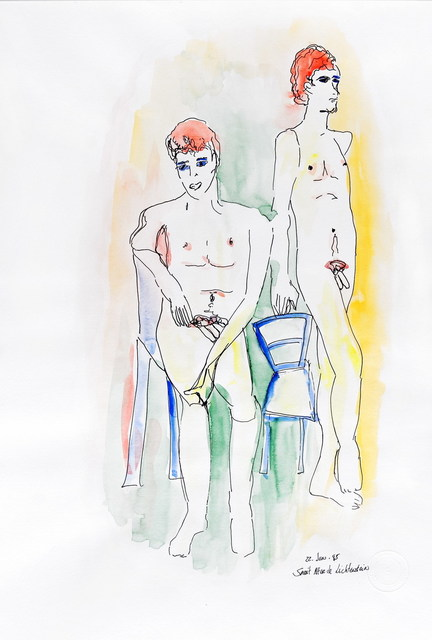 Sarit Lichtenstein, 'Two Boys', 1995, Galerie AM PARK