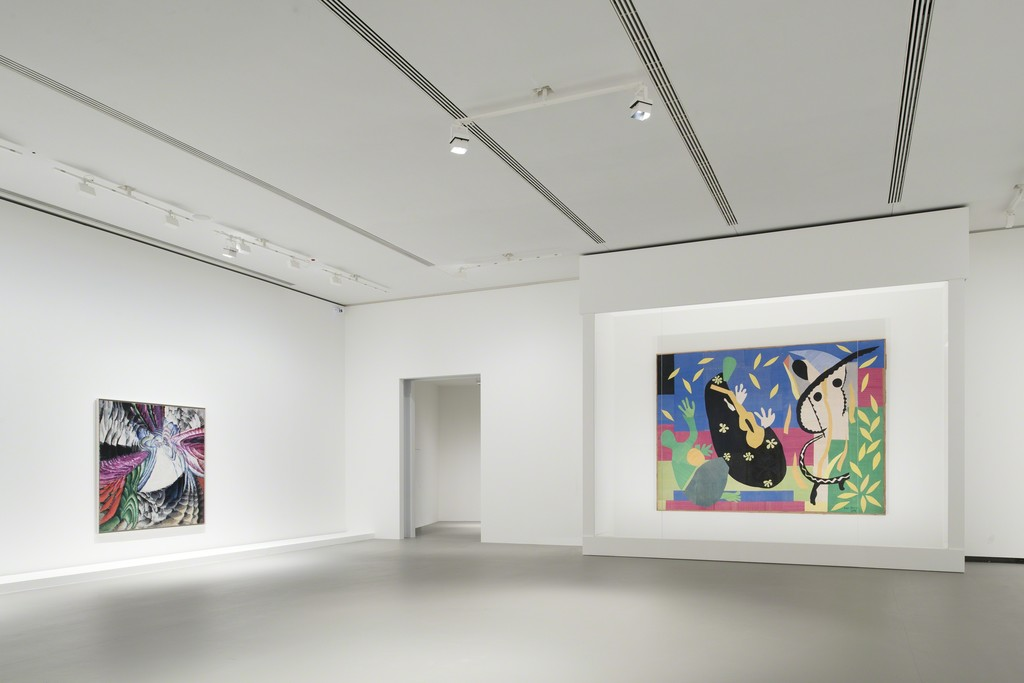 View of Kupka and Matisse at Fondation Louis Vuitton, Paris 2015