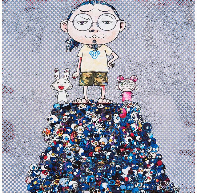 Takashi Murakami, 'Kaikai Kiki & Me: On the Blue Mound of the Dead', Eternity Gallery