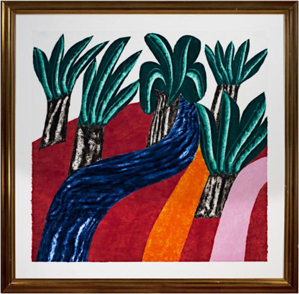 , 'Wild Palms,' 1986, David Barnett Gallery