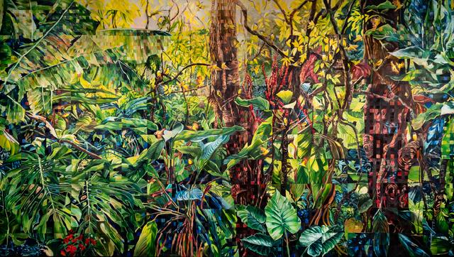 Sandra Mazzini, 'Forest with Bem-te-vis', 2017, Janaina Torres Galeria