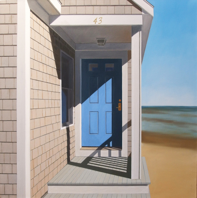 , 'The Blue Door,' , Clark Gallery