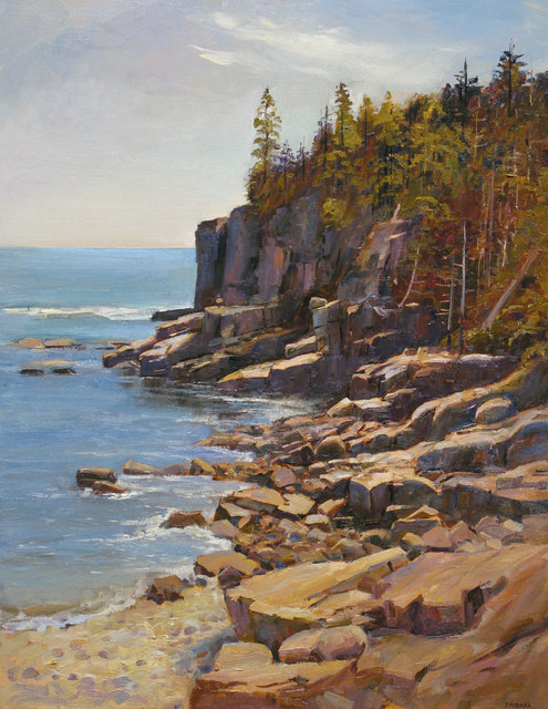 Joel Babb, 'Otter Cliffs, Mt. Desert Island, Maine', 2011, Vose Galleries