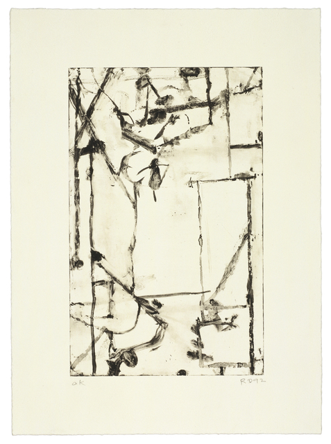 Richard Diebenkorn, 'Untitled #8', 1993, Gemini G.E.L.