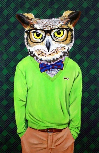 Jared Aubel, 'Intellectu-Owl', 2012-2019, {9} The Gallery