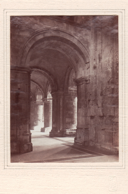 , 'Aisle Archway, Priory of St. Bartholomew the Great,' Neg. date: 1912 c. / Print date: 1912 c., Alan Klotz Gallery