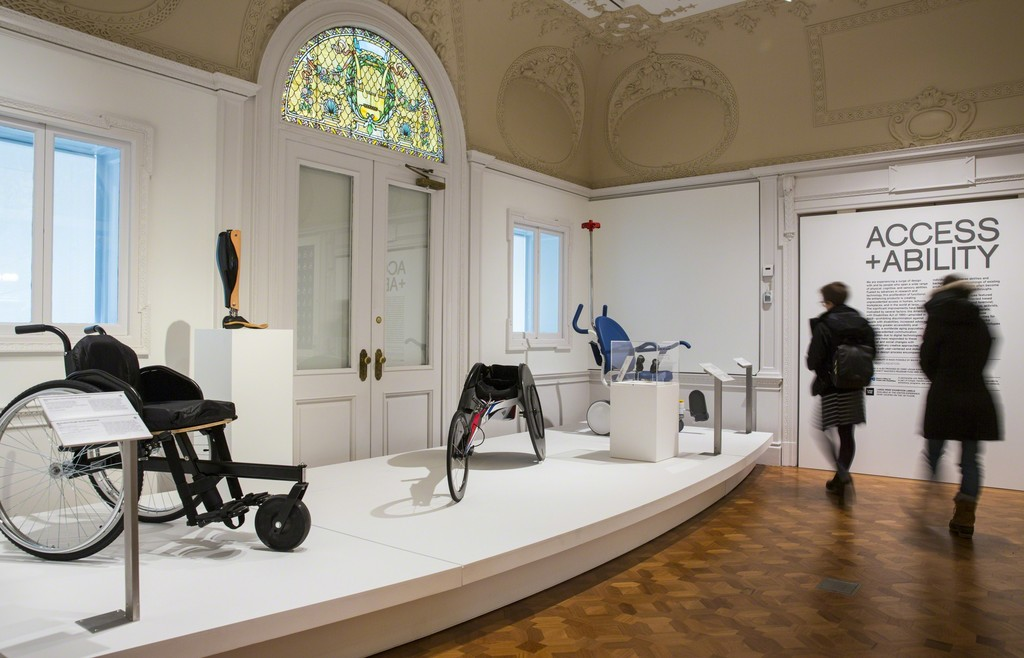 "Installation view of ""Access+Ability."" Photo: Chris J. Gauthier © Smithsonian Institution"