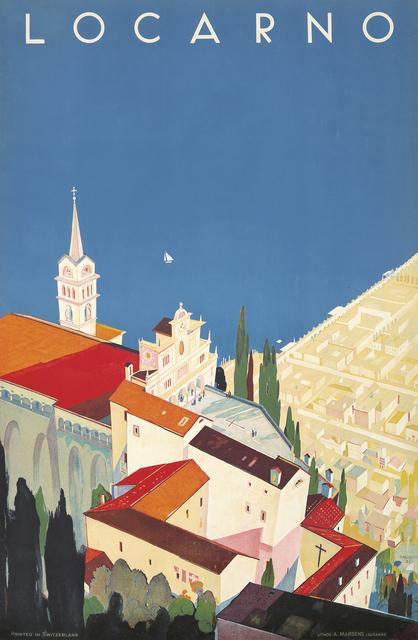 Daniele Buzzi, 'Locarno', 1944, Rennert's Gallery