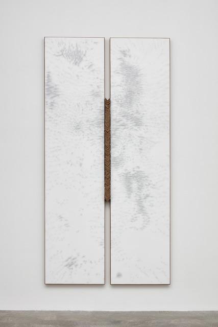 N. Dash, 'Untitled', 2019, Painting, Adobe, acrylic, cardboard, jute, Casey Kaplan