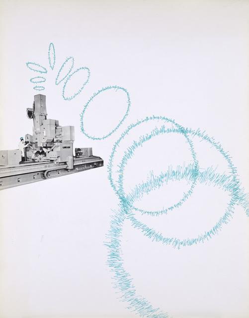 Bernard Heidsieck, 'Machine à mots, n°23', 1971, Galerie Natalie Seroussi