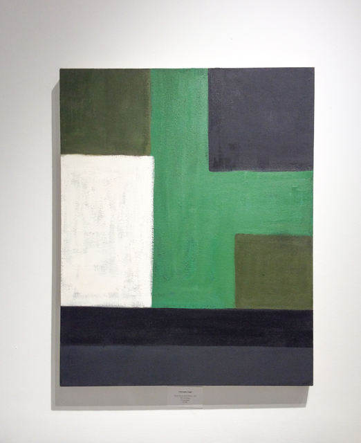 Christopher Engel, 'Study: Green, Black, White', 2007, Carrie Haddad Gallery