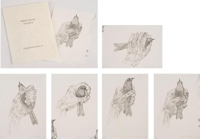 , 'Bird in Hand,' 2009, Tamarind Institute