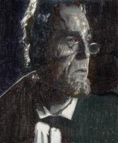 , 'Abraham Lincoln,' 2014, Espacio Líquido