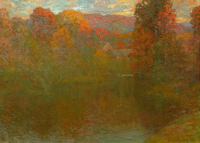 John Joseph Enneking, 'Autumn Symphony', 1889, Vose Galleries