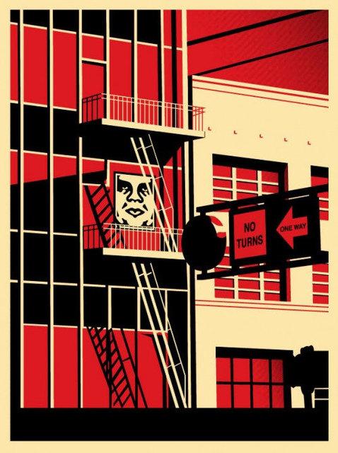 , 'SF Fire Escape,' 2011, EHC Fine Art