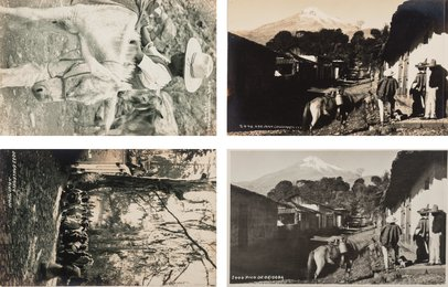 A Group of Four Postcards