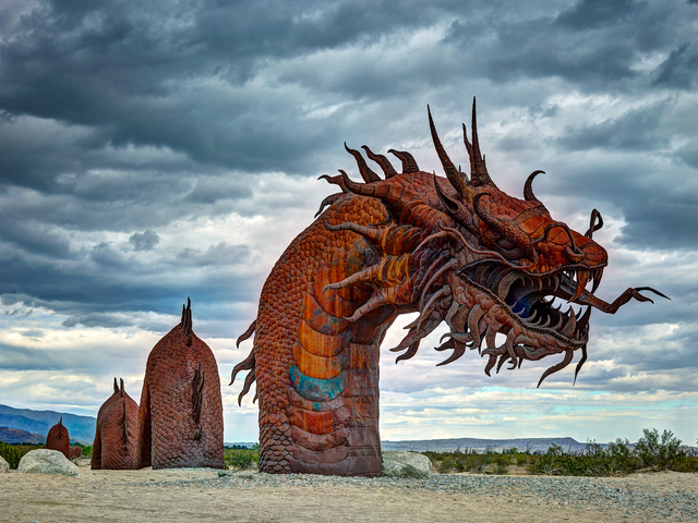 , 'Iron Dragon,' 2016, Joshua Tree Art Gallery