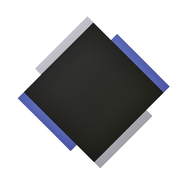 , 'Centric Black / Blue / Grey,' , Peter Blake Gallery