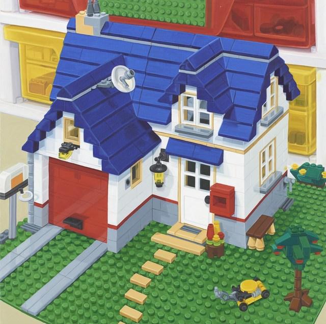 , 'Lego House,' 2014, Louis K. Meisel Gallery