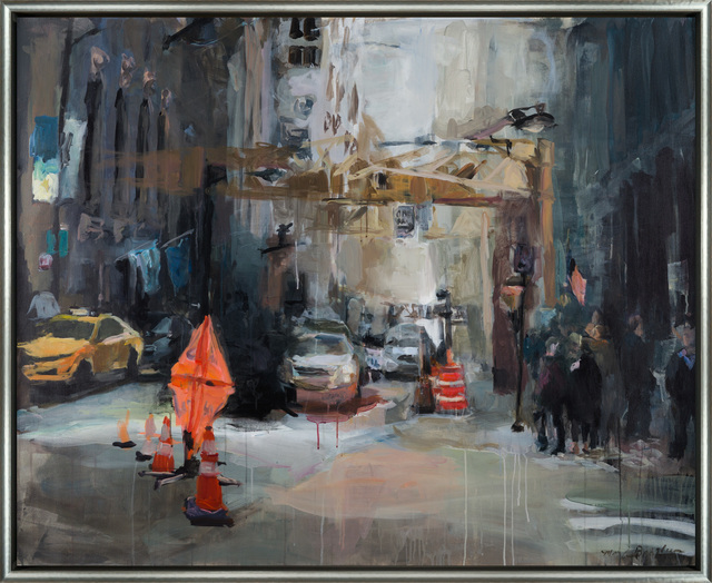 Marilyn Borglum, 'The Heart of Downtown', Merritt Gallery