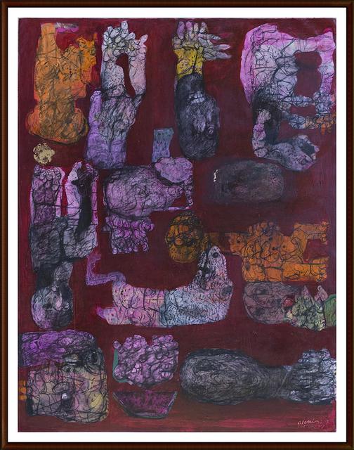 Omran Younis, 'Untitled', 2015, al markhiya gallery