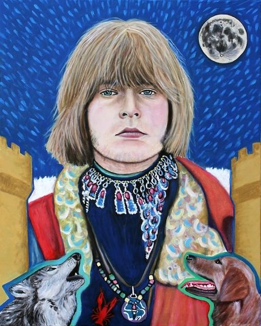 , 'Tarot - Brain Jones as the Moon,' 2016, Parlor Gallery