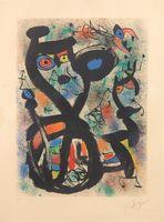 Joan Miró, The Cat