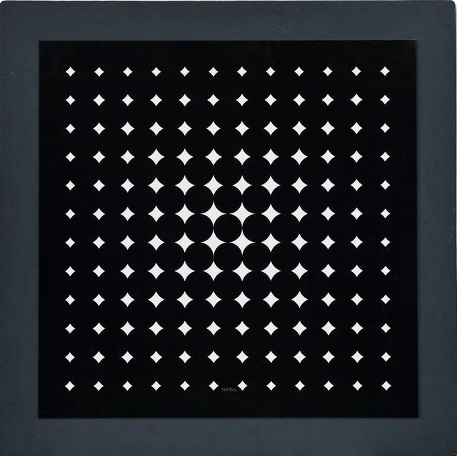 , 'Quadrature,' 1960, Galerie Hans Mayer