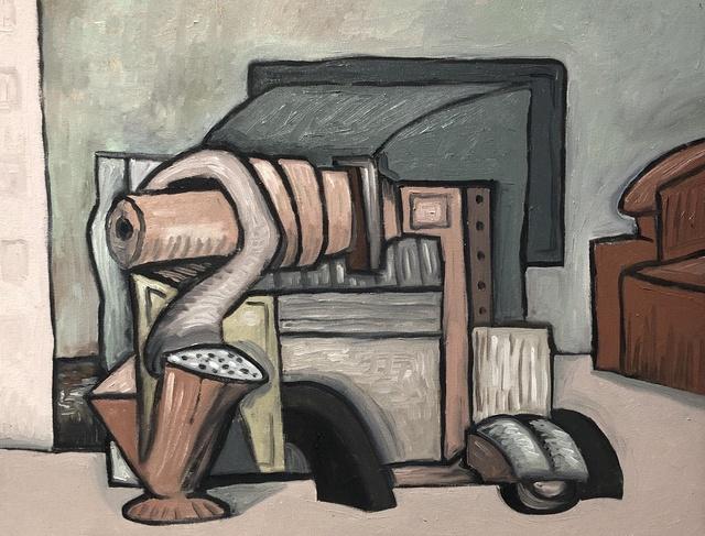 David Elliott, 'Red Chair', Davis Gallery & Framing