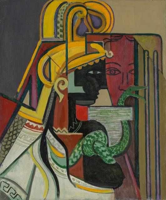 , 'Profil et masque,' ca. 1928, Waterhouse & Dodd