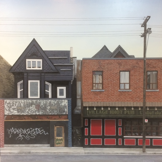 , 'Village Idiot Pub,' 20172018, The Front Gallery