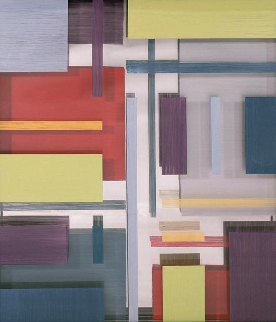 Arica Hilton, 'Etude 1', 2020, Mixed Media, Triple Panel Acrylic on Acrylic with two way mirror, Hilton Asmus