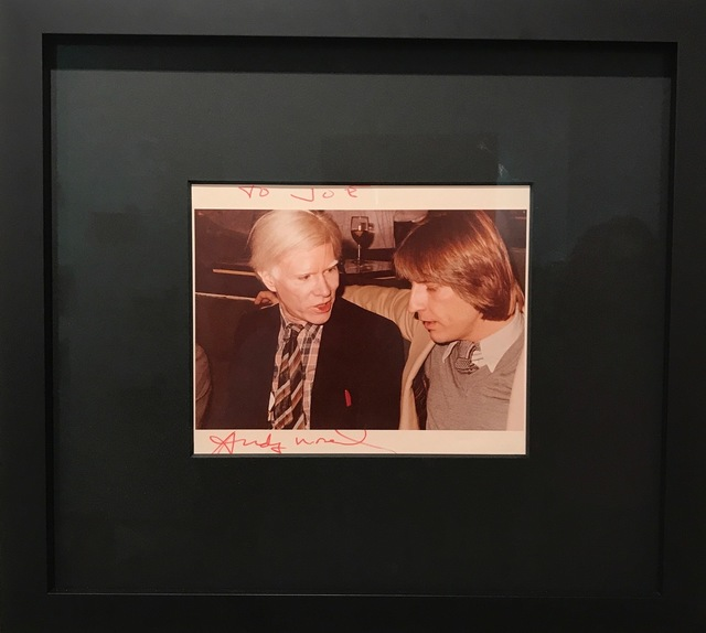 Andy Warhol, 'Photograph while talking', 80, RUDOLF BUDJA GALLERY
