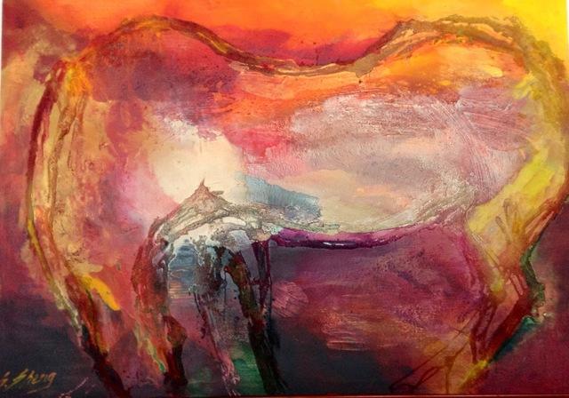 , 'Sunshine Horse,' , Contemporary by Angela Li