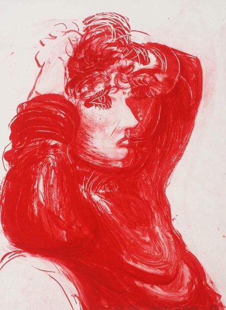 David Hockney, 'Red Celia', 1984, Print, Lithograph, Belgis-Freidel Fine Art, Ltd.